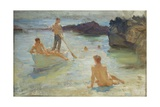 Study for Morning Splendour, c.1921 Giclee Print by Henry Scott Tuke