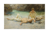 Noonday Heat, 1902-3 Giclee Print by Henry Scott Tuke