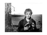Giuletta Masina in 'La Strada', 1954 Giclée-Druck