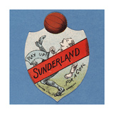 Play Up Sunderland for a Goal Giclee Print by  English School
