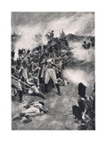 How the 28th Regiment Won 'The Back Number', Illustration from 'British Battles on Land and Sea',… Giclee Print by Walter Stanley Paget