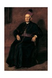 Archbishop William Henry Elder, 1903 Giclee Print by Thomas Cowperthwait Eakins