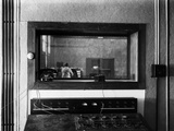 Radio Broadcasting Control Room in the Haus des Rundfunks (House of Broadca Photographic Print by  German photographer