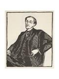 Maurice Barres, Copy by Boris Mestchersky (D.1957), Illustration from 'Histoire de La Nation… Giclee Print by Jacques-emile Blanche