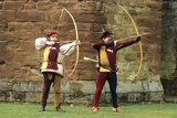 Medieval Bowmen, Part of a Historical Re-Enactment Photographic Print