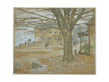 November, Cos Cob, 1902 Giclee Print by Childe Hassam