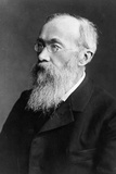 Portrait of German Psychologist Wilhelm Wundt Photographic Print by  German photographer