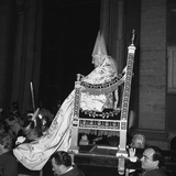 The Coronation of Pope John XXIII, St. Peter's Basilica, Vatican City, 4th November 1958 Photographic Print
