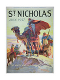 Front Cover of St. Nicholas Magazine, July 1927 Giclee Print by  American School