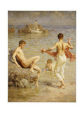 Gleaming Waters, 1910 Giclee Print by Henry Scott Tuke