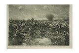 Difficulties of Gun Transport, 1914-19 Giclee Print by Christopher Clark
