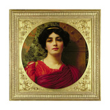 Sappho, 1903 Giclee Print by John William Godward