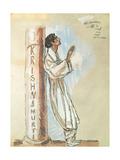 Krishnamurti, 1927 Giclee Print by Emile-antoine Bourdelle