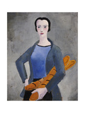 Girl with Bread, 1926 Giclee Print by Christopher Wood