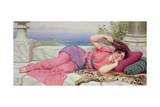 Noon Day Rest, 1910 Wydruk giclee autor John William Godward