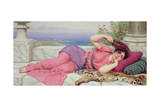 Noon Day Rest, 1910 Giclee Print by John William Godward
