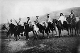 Hashomer - Jewish Watchmen in Galilea, Early 1900s Photographic Print