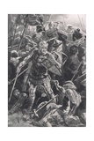 Henry V and the Duc d'Alencon at the Battle of Agincourt, 25th October 1415, Illustration from… Giclee Print by Arthur Twidle