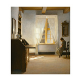 Girl Reading, 1901 Giclee Print by Peter Vilhelm Ilsted