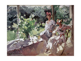 A Terrace, 1916 Giclee Print by Konstantin A. Korovin