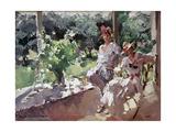 A Terrace, 1916 Giclee Print by Konstantin Alekseevich Korovin