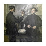 The Korin Brothers, 1930 Giclee Print by Mikhail Vasilievich Nesterov