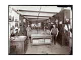 The Wine Cellar of the Hotel Manhattan, 1902 Wydruk giclee autor Byron Company