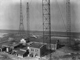Radio Transmission Facility in Norddeich, Germany, c.1933 Photographic Print by  German photographer