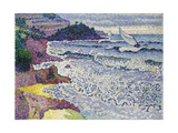 Undulating Sea, c.1903 Giclee Print by Henri Edmond Cross