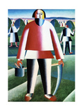 The Reapers Giclee Print by Kasimir Malevich