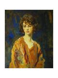 The Hon. Lois Stuart II, 1920 Giclee Print by Ambrose Mcevoy