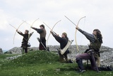 Medieval Archers, Part of a Historical Re-Enactment Photographic Print
