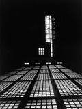 The NORAG (Nordeutscher Rundfunk or NDR) Building in Hamburg, Rothenbaumcha Photographic Print by  German photographer