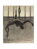 Ring Gymnast, 1911 Giclee Print by Eugene Jansson