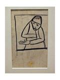 Thief Giclée-tryk af Kasimir Malevich
