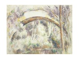 The Bridge of Trois-Sautets, c.1906 Giclee Print by Paul Cézanne