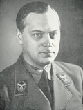 Alfred Rosenberg, 1940 Photographic Print by  German photographer