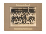 Aston Villa F.C., 1937-38, League Champions, Division 2 Giclee Print by  English School