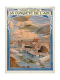 The Conquest of the Air, 1909 Giclee Print by Eugene Grasset