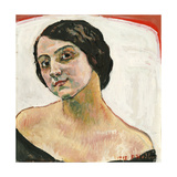 Woman with Brown Hair, 1913 Giclee Print by Ferdinand Hodler