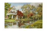 The Boathouse, 1902 Giclee Print by Alfred Parsons