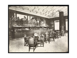 The Old King Cole Bar at the Hotel Knickerbocker, 1906 Giclee Print by  Byron Company