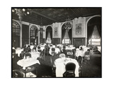 Dining Room at the Copley Plaza Hotel, Boston, 1912 or 1913 Giclee Print by  Byron Company