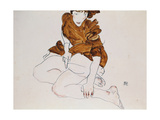 Seated Woman, 1912 Giclee Print by Egon Schiele