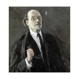 Self Portrait Giclee Print by Mikhail Vasilievich Nesterov
