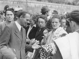 "Berliners at an ""Exchange Market"" in Lichtenberg, Berlin, 6th June 1946 Photographic Print by  German photographer"