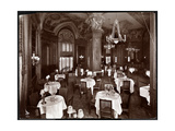 The Ladies' Cafe at the Hotel McAlpin, 1913 Giclee Print by  Byron Company