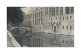 A Souvenir of Flanders (A Canal) 1904 Giclee Print by Fernand Khnopff