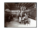 The Dutch Room at the Hotel Manhattan, 1902 Impressão giclée por  Byron Company