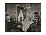 Private Dining Room at the Hotel Knickerbocker, 1906 Giclee Print by  Byron Company